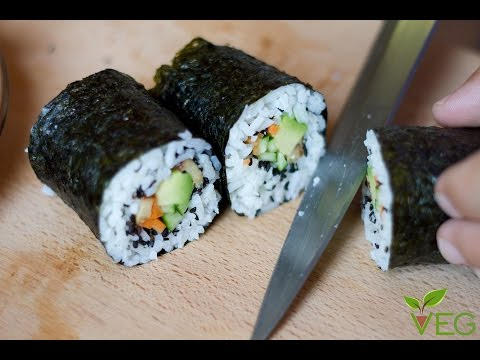futomaki vegan - ricetta