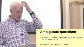 Questionnaire Layout&question Wording. Part 2 Of 3 On Questionnaire Design