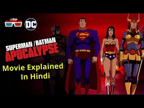 Superman Batman Apocalypse 2010 Movie Explained In Hindi | dc comics | justice league | Movies IN