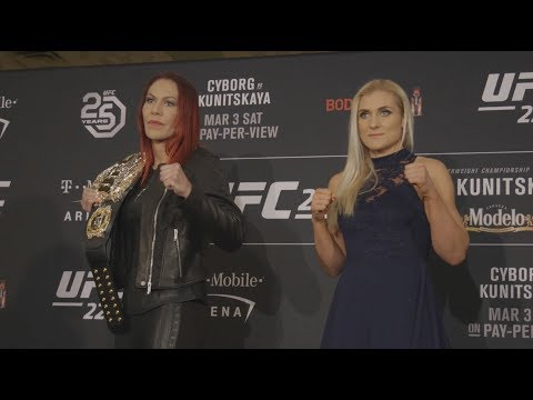 UFC 222: Media Day Faceoffs