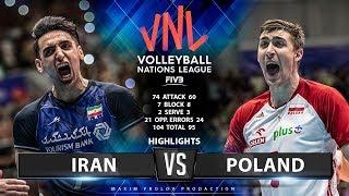 Video Iran vs Poland   Highlights Men's VNL 2019 MP3, 3GP, MP4, WEBM, AVI, FLV Juni 2019