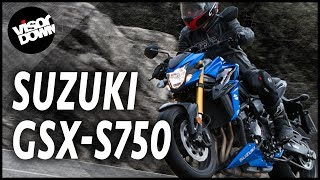 8. Suzuki GSX-S750 Bike Review First Ride | Suzuki naked bike review