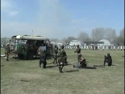 Russian Swat Team Training