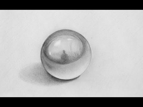 Sorprendente dibujo en 3D - Cómo dibujar una esfera