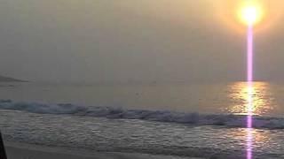 Sunrise With Monks - Koh Samet, Thailand