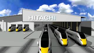 Newton Aycliffe United Kingdom  City pictures : Hitachi Trains, Newton Aycliffe from virtuallydone.co.uk