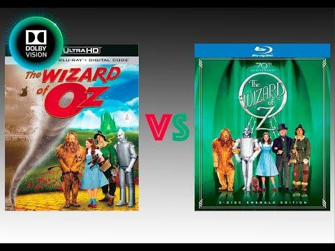 ▶ Comparison of Wizard of Oz 4K (4K DI) Dolby Vision vs Regular Version
