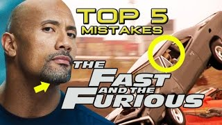 Nonton Top 5 Movie Mistakes - The Fast & Furious Franchise (HD) Vin Diesel, Dwayne Johnson, Paul Walker Film Subtitle Indonesia Streaming Movie Download