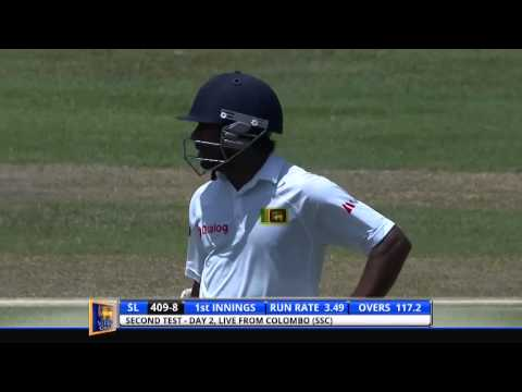 Angelo Mathews takes 3 wickets in the first over against Windies