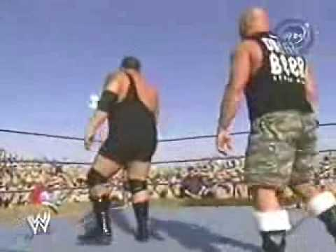 Austin - Taken from the Tribute to the Troops show in 2003,Cena makes a big mistake of messing with the Texas Rattlesnake!All Rights belong to WWE,no infringement int...