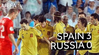 Download Video SPAIN beats RUSSIA to reach the EURO 2008 final MP3 3GP MP4