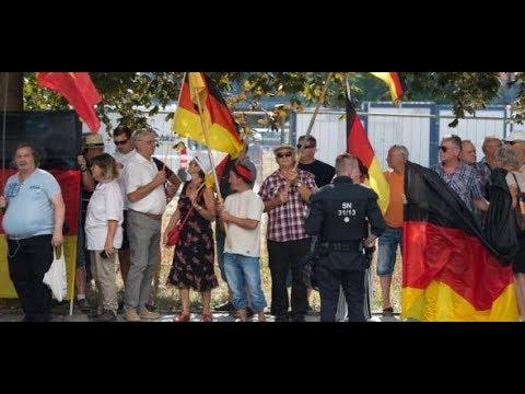 Dresden: Polizeieinsatz gegen ZDF - Pegida-Demonstran ...
