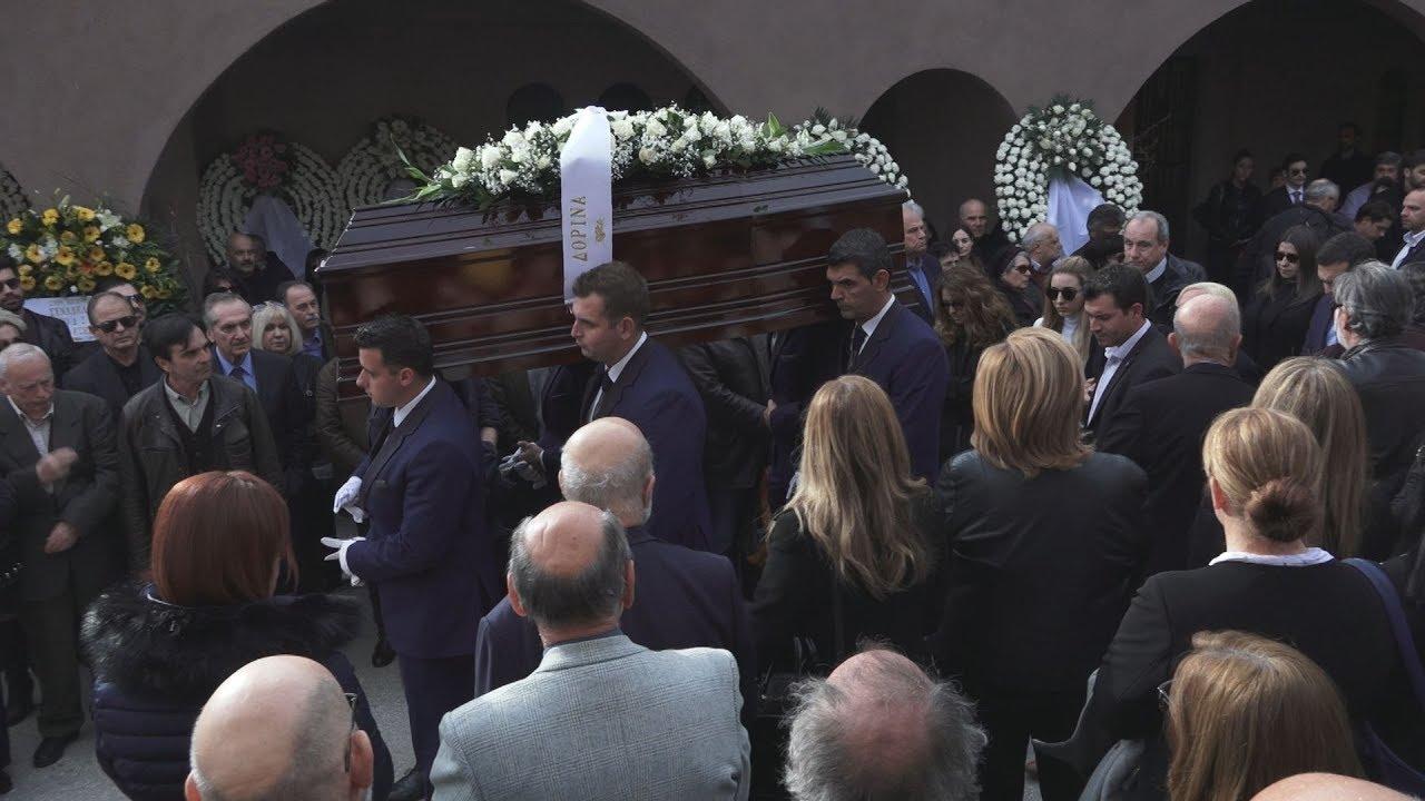 Το τελευταίο αντίο στο Βασίλη Μουλόπουλο