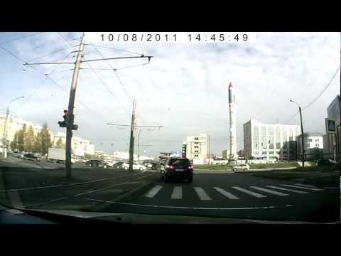 Красноярский Рабочий проспект, 28 января 2012, Hyundai Santa Fe