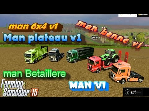 Pack trucks Man V1