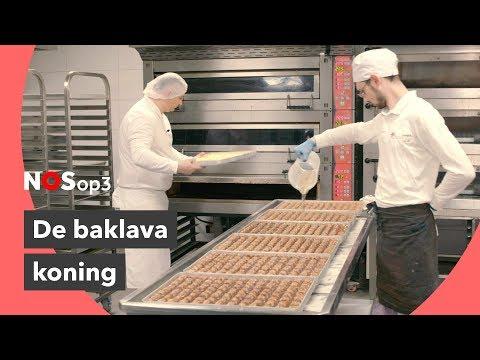 Kijkje in de keuken van de baklava koning | NOS op 3 (видео)