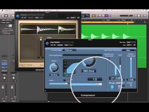 Logic Pro X – #62 – Mixing (part4): Understanding Compression, Compressor Plug-in