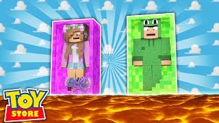 FLOOR IS LAVA IN THE TOYSTORE! Minecraft Little Kelly NEW LITTLE LIZARD CHANNEL : http://bit.ly/LittleLizardMC The Kelly...