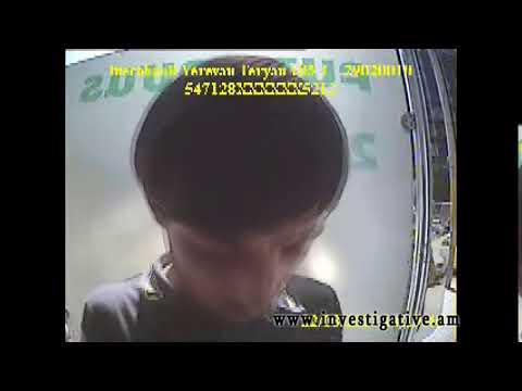 Գողացված բանկային  քարտով փորձել են գումար կանխիկացնել (տեսանյութ, լուսանկարներ)