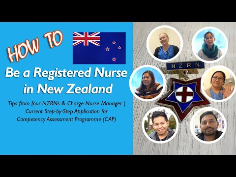 How to be a Registered Nurse in New Zealand | Tips from 4 NZRNs, Nurse Manager | Current CAP Process