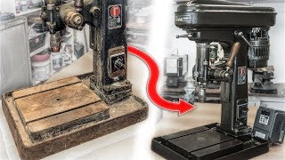 Video ROSA Drill Press Restoration   The Best Italian Made Sensitive Drill Press! MP3, 3GP, MP4, WEBM, AVI, FLV Juli 2019