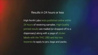 @HighNorthLabs tests all @CannabisCulture @461ChurchStreet product by Pot TV