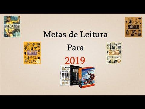Meta de Leitura para 2019