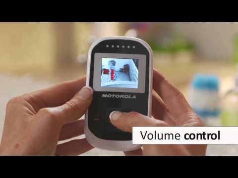 Цифровая беспроводная видеоняня Motorola MBP 18