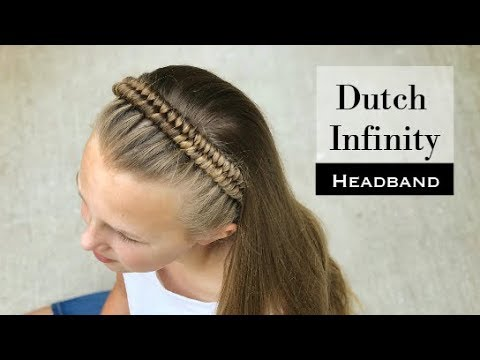 Dutch Inifinity Headband Braid by Erin Balogh