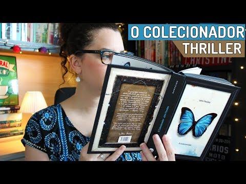 O COLECIONADOR, um thriller perturbador (VLOG DE LEITURA) | BOOK ADDICT