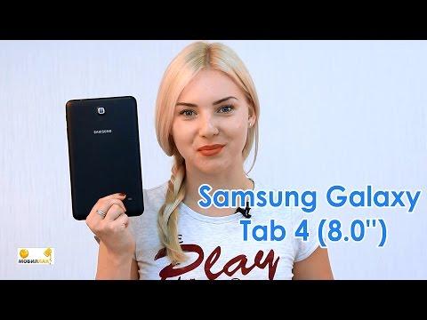 Обзор нового и стильного планшета от Samsung: Galaxy Tab 4 8.0''