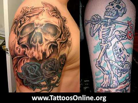 Skull tattoos (Awesome skull tattoos)