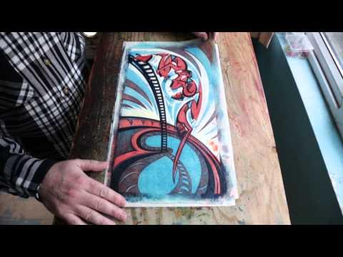Gary Ratushniak on the Art of Linocut