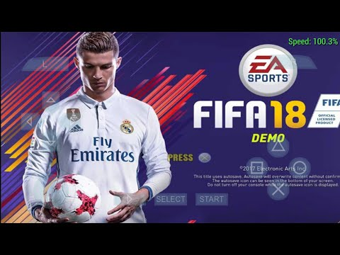 Fifa 18 Ppsspp Android Gameplay