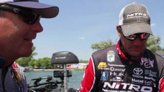 Cayuga Lake First Look with KVD and Day Hite