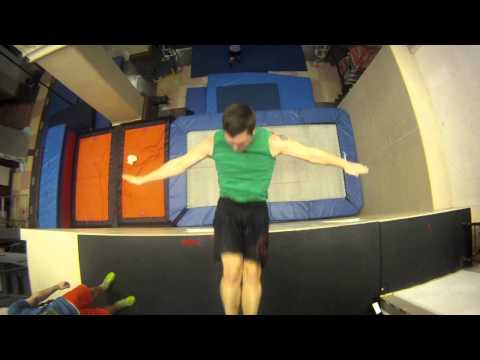 Extreme - Trampoline wall and teeterboard Demo. Here is a video of my new circus company Flip FabriQue http://www.youtube.com/watch?v=8EhoYvJ--tg For any further infor...