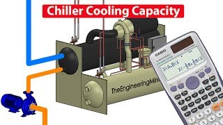 This video guides you through how to calculate the cooling capacity of a chiller and the cooling load, it teaches in both metric and...
