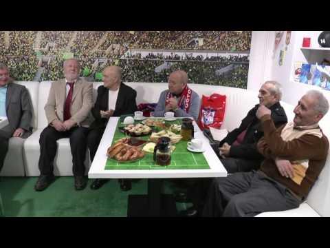 Встреча команды СКА с ветеранами по случаю 50-летия завоевания серебряных медалей в 1966 году.