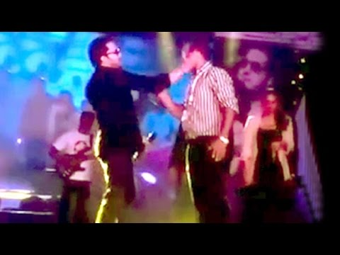 Mika Singh Slaps A Doctor On Stage - LEAKED Video