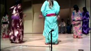 Somali Students at the University of Washington perform traditional Somali dances. The show took place on the campus of the...