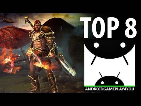 TOP 8 BEST HACK and SLASH ANDROID GAMES 2016!