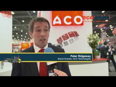 Ecobuild 2017: Peter Ridgeway, ACO Technologies
