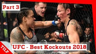 Video UFC - Best Knockouts 2018 - part 3: Jon Jones, Amanda Nunes, Alexander Volkanovski MP3, 3GP, MP4, WEBM, AVI, FLV September 2019