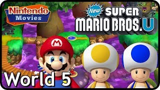 Welcome to our New Super Mario Bros. U walkthrough! This is a 100% walkthrough of the game, we collect all star coins in every ...
