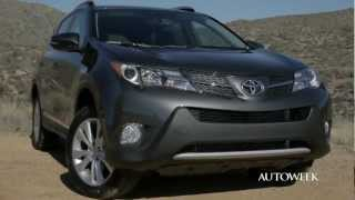 2013 Toyota Rav4&Rav4 EV - Drive Review Video