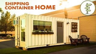 Minimalist 20ft Shipping Container Tiny House for $39K - Full Tour