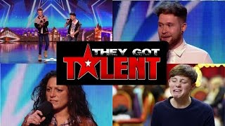 Video BGT - Best Singers Auditions ever - Part 1 MP3, 3GP, MP4, WEBM, AVI, FLV Juni 2019