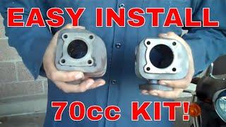 4. kymco people 49cc to 70cc Malossi big bore performance conversion kit