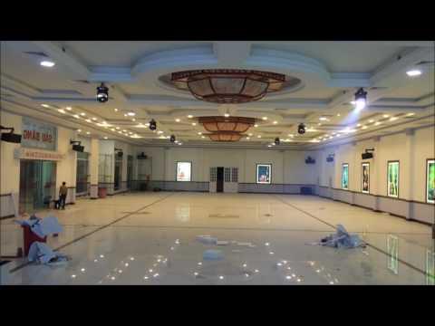 Lắp đặt và Setup Đèn Sân Khấu nhà hàng tiệc cưới Sáu Băng - Đồng Xoài