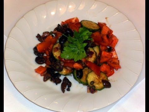 Mediterranean Diet: How To Make a Healthy Mediterranean Vegetable Salad